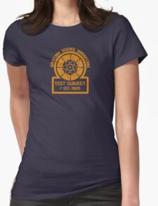 Test Subject Womens Fitted T-Shirt