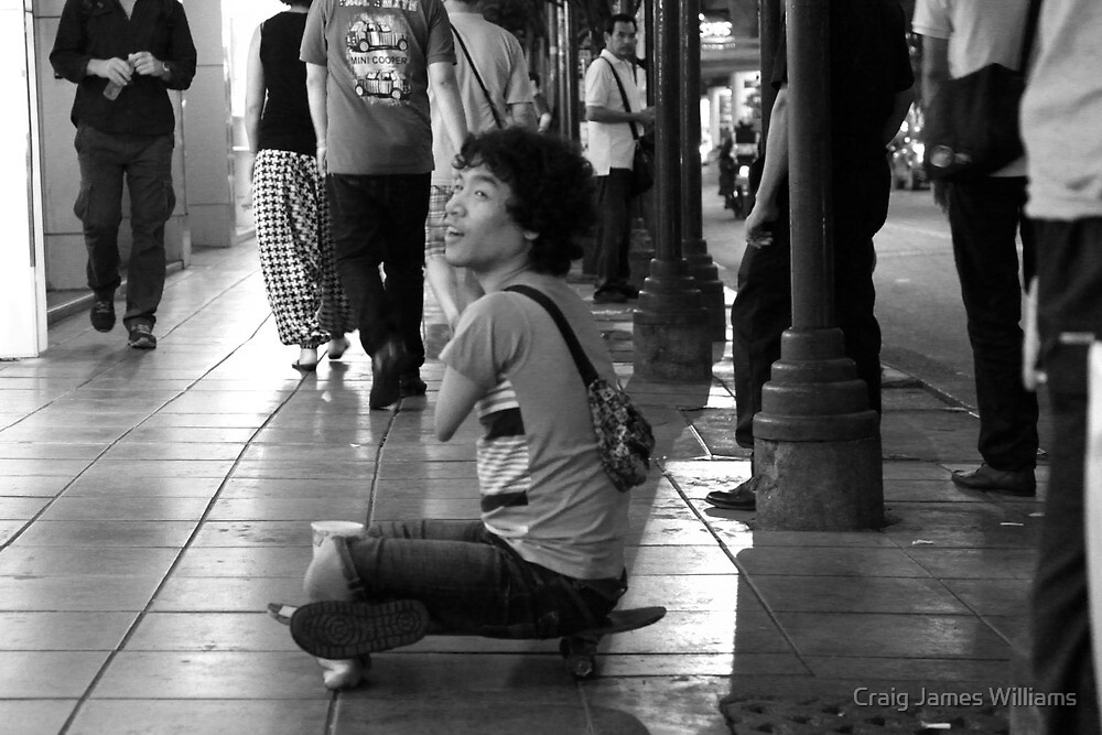 Poverty In BKK by Craig James Williams