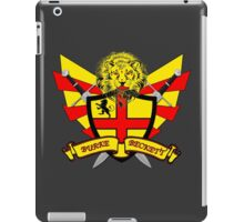 Burke Beckett Coat of Arms iPad Case/Skin