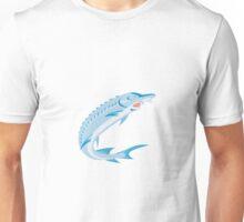 Sturgeon Fish Retro Unisex T-Shirt