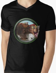 ARK SURVIVAL EVOLVED - TREX Mens V-Neck T-Shirt