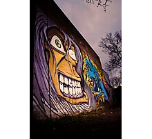 Graffiti Face Photographic Print