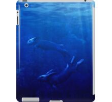 Sea Rabbits Dance Beneath the Waves iPad Case/Skin