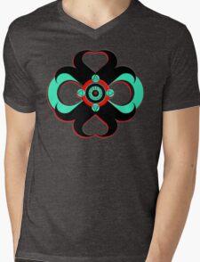 Didactic  L I N K Mens V-Neck T-Shirt