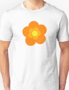 Flowers, Blossoms, Blooms, Petals - Orange Yellow T-Shirt