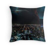 Melbourne Night Throw Pillow