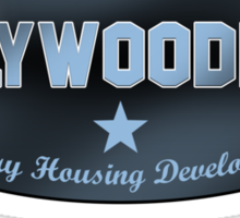 Hollywoodland Sticker