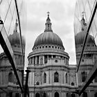 St. Paul's Cathedral looking from One New Change by Chilla Palinkas