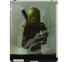 One Man Tank Returning From Battle iPad Case/Skin