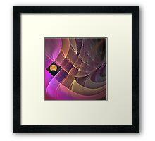Moon Mystery Framed Print
