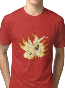 The Burnt Fur of Ninetales Tri-blend T-Shirt