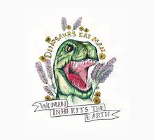 Woman inherits earth.  T-Shirt
