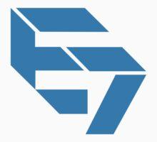 E7 Blue Logo by madiamondring