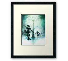 Legend of Zelda Dark Link Framed Print