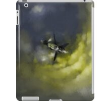 Stranded Space Craft Painting iPad Case/Skin
