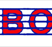 Oboe Red white & Blue II Sticker
