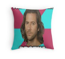 "Desmond Hume ""Time To Drink BROTHA"" (LOST Poster) Throw Pillow"