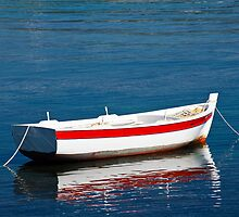 Small Boat in Greece by CPProPhoto