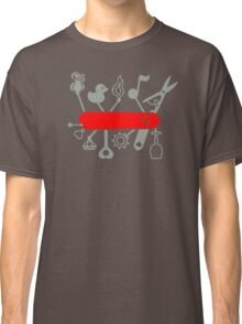 Swiss Army Knife for Lovers Classic T-Shirt