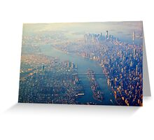 New York from the Air  (2012) Greeting Card