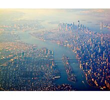 New York from the Air  (2012) Photographic Print