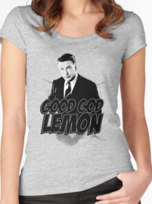 Good God Lemon!!!?! Women's Fitted Scoop T-Shirt