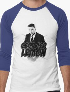 Good God Lemon!!!?! Men's Baseball ¾ T-Shirt