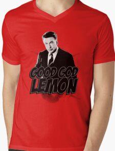 Good God Lemon!!!?! Mens V-Neck T-Shirt