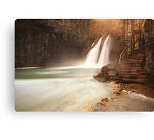 Plitvice waterfall Canvas Print