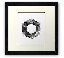 Optical landscape Framed Print