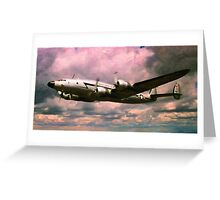 L-749 Constellations Greeting Card