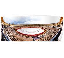 Arena Sevilla panorama, Spain Poster