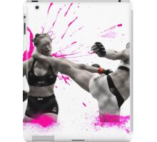 Holly Holm Knocks Out Ronda Rousey iPad Case/Skin