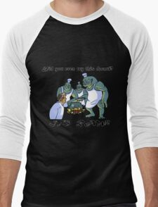 This Dwarf is Raw! Men's Baseball ¾ T-Shirt