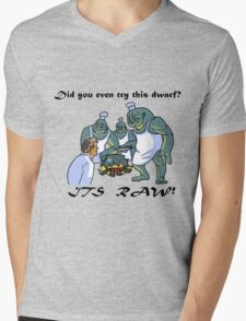 This Dwarf is Raw! Mens V-Neck T-Shirt