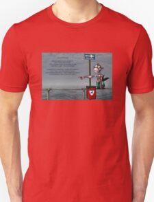 Silly Illustrated Sea Monkey Poem Unisex T-Shirt