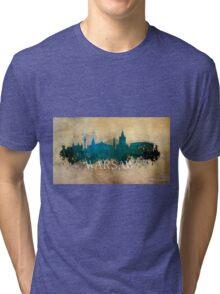 Warsaw Poland Tri-blend T-Shirt