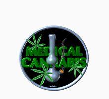 Medical Marijuana bong from Valxart.com  Unisex T-Shirt