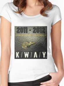 K/W/A/Y Anthology Women's Fitted Scoop T-Shirt