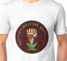 Support Medical Cannabis/Marijuana fist  Unisex T-Shirt