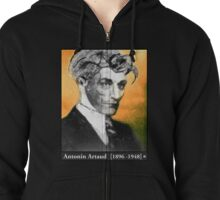 Absolute Antonin Artaud Zipped Hoodie