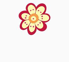 Flowers, Blossoms, Petals - Red Orange Yellow Unisex T-Shirt