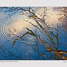 River abstract, Bristol Wells Maine by Dave  Higgins