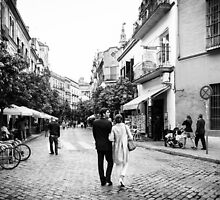 Couple in Sevilla, Spain by LaurentS