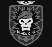 CALL OF DUTY BLACK OPS 2 - SKULL LOGO  by Republica