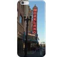 Fox Theater marquee  iPhone Case/Skin