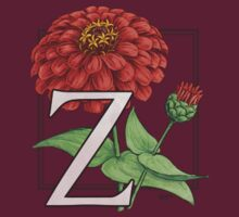 Z is for Zinnia patch by Stephanie Smith