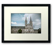 Michaelsberg Abbey in Bamberg Framed Print
