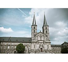 Michaelsberg Abbey in Bamberg Photographic Print