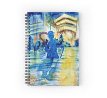 Stevie Ray Vaughn Spiral Notebook
